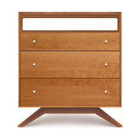 Astrid 3-Drawer + TV Organizer | Copeland Furniture