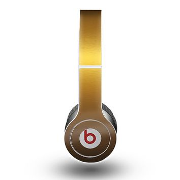 The Gold Shimmer Surface Skin for the Beats by Dre Original Solo-Solo HD Headphones