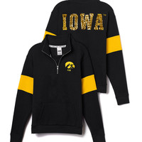 University of Iowa Bling Half-Zip Pullover