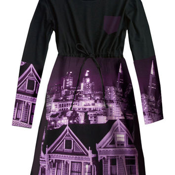 San Francisco California Photo T-Shirt Dress