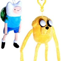 Adventure Time with Finn & Jake Exclusive Plush Set of 2