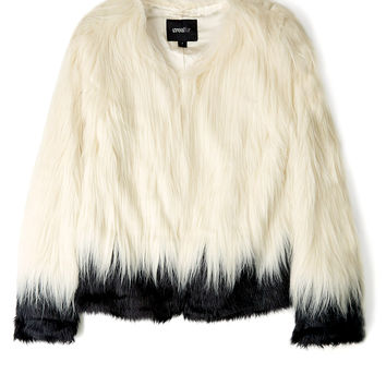 Fire and Ice Faux Fur Jacket by Unreal Fur