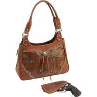 "Casual Outfitters"" Western-Style Concealed Carry Purse"
