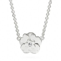 Coach :: Sterling Poppy Flower Necklace