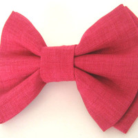 Dog bow tie Red dog bow tie Large dog bow tie Bow tie for dog Collar accessory Pet bowtie Wedding dog bow tie