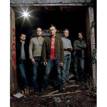 3 Doors Down Group poster Metal Sign Wall Art 8in x 12in