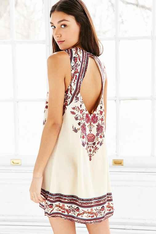 3f94731301b2 Ecote Guinevere Open-Back Frock Dress from Urban Outfitters