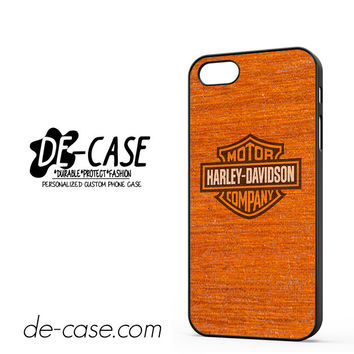 Harley Davidson Wood Pattern For Iphone 5 Iphone 5S Case Phone Case Gift Present YO