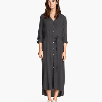 H&M Long Shirt Dress $34.95