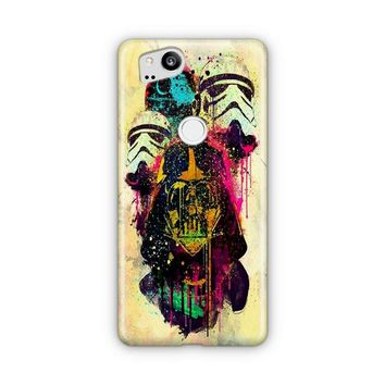 Star Wars Darth Vader Van Gogh Google Pixel 3 XL Case | Casefantasy