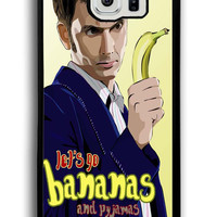 Doctor Who Lets Go Bananas for Samsung Galaxy S6 Hard Cover Plastic
