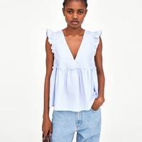 FRILLED TOP DETAILS