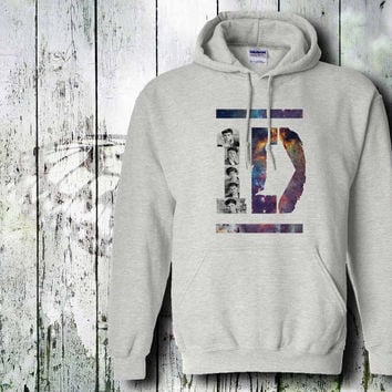 1d galaxy nebula hoodie one direction galaxy hoodie unisex adult by gildan