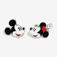 Disney Mickey And Minnie Enamel Pin Set