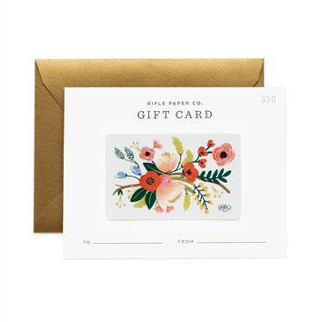 Lively Floral Gift Card by RIFLE PAPER Co. | Made in USA