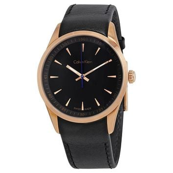 Calvin Klein Bold Black Dial Mens Watch K5A316C1