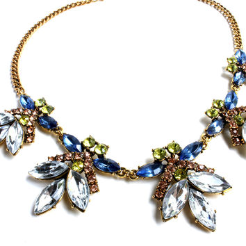 """Fly Butterfly"" Statement Necklace"