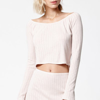 Lisakai Barbara Ribbed Knit Mini Skirt at PacSun.com