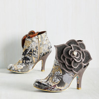 Irregular Choice The Frills are Alive Bootie | Mod Retro Vintage Boots | ModCloth.com