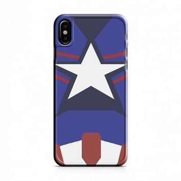Captain America Age of Ultron New Costume iPhone X Case
