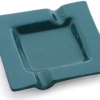 50% off Prime Sale on SouvNear Square Ashtray Ceramic Ash Tray with 2 Cigarette Holder Slots for Home, Office, Bar Outdoors & Indoors - Perfect Gift for Smokers and Great for Personal Use
