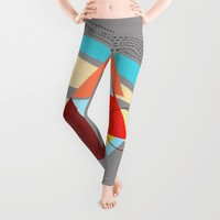 Triangles Leggings by Haroulita