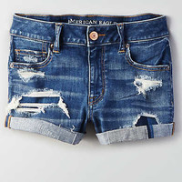 AEO Denim X Hi-Rise Shortie, Brilliant Repair