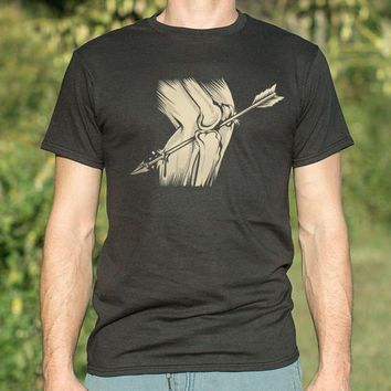 Arrow In The Knee [Getting Married] Men's T-Shirt