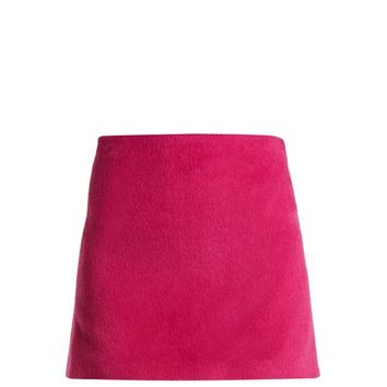 Brushed Magenta 2000 mini skirt | Helmut Lang | MATCHESFASHION.COM US