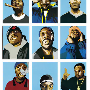 The Wu-Tang Clan Poster