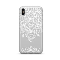 Sanskrit Mandala - Clear TPU Case Cover