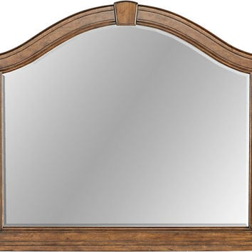 Eric Church Highway To Home Heartland Falls Brown Mirror - Dressers Dark Wood