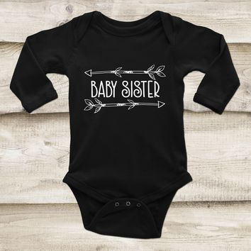 Baby Sister Outfit - Sibling Baby Outfit