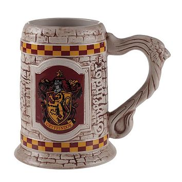 Universal Studios The Wizarding World Harry Potter Gryffindor Stein Coffe Mug New