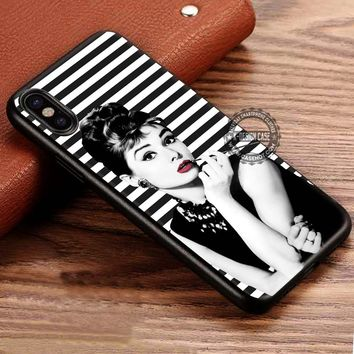 Audrey Hepburn Breakfast At Tiffany's iPhone X 8 7 Plus 6s Cases Samsung Galaxy S8 Plus S7 edge NOTE 8 Covers #iphoneX #SamsungS8