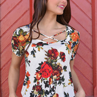 Change Your Life Floral Top