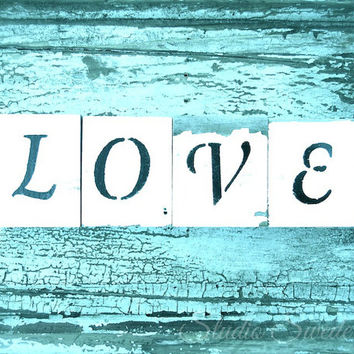 Word Art, Romantic Photography, Still Life, Rustic Photography, Letters, Aqua Art, Shabby Chic Art, Message, Love Letters, Whimsical Art