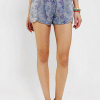 Urban Outfitters - Ecote Mixed Print Runner Short