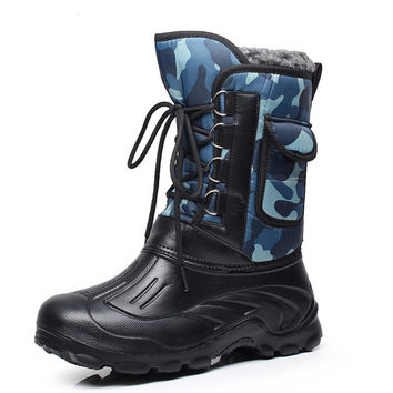 snow boots thermal waterproof