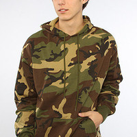 The Woodland Camo Pullover Hoody