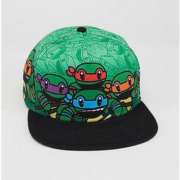 9d5b1f6430f Animigo Teenage Mutant Ninja Turtle Snapback Hat - Spencer s