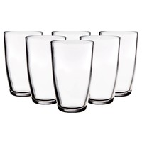 Metro Alanya Clear 16oz Hiball Set of 6