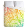 Shannon Clark Bright Branches Duvet Cover