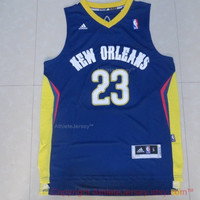 Anthony Davis 23 Orleans Pelicans NBA Basketball Jersey Anthony Davis Orleans