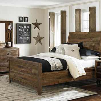 Wild River Twin Size Panel Bed