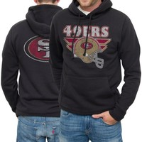 San Francisco 49ers Zone Blitz Double-Sided Pullover Hoodie - Black