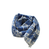 Arsene et Les Pipelettes Nautical Print Scarf - E14A-F07 - FINAL SALE