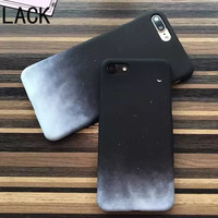 LACK Fashion Special Starry Sky Phone Cases For iphone 6 Newest Gradient Moon Hard PC Back Cover For iphone 6S 7 7Plus Fundas