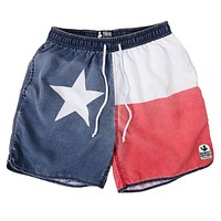 Faded Texas Flag Swim Trunks by Rowdy Gentleman - FINAL SALE