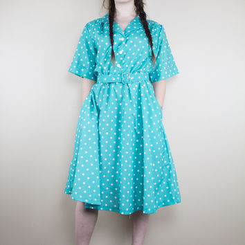 Livin' In The Suburbs Vintage Dress